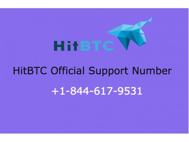 Hitbtc customer support number +1-(844)-617-9531