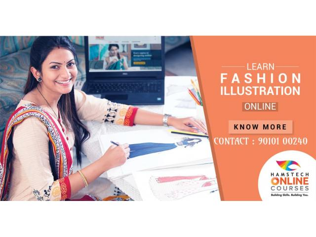 Fashion Illustration Class Online for You. Join Hamstech Online Courses!